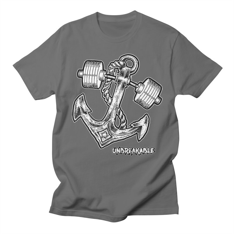 Anchor Men's Regular T-Shirt by Unbreakable Barbell