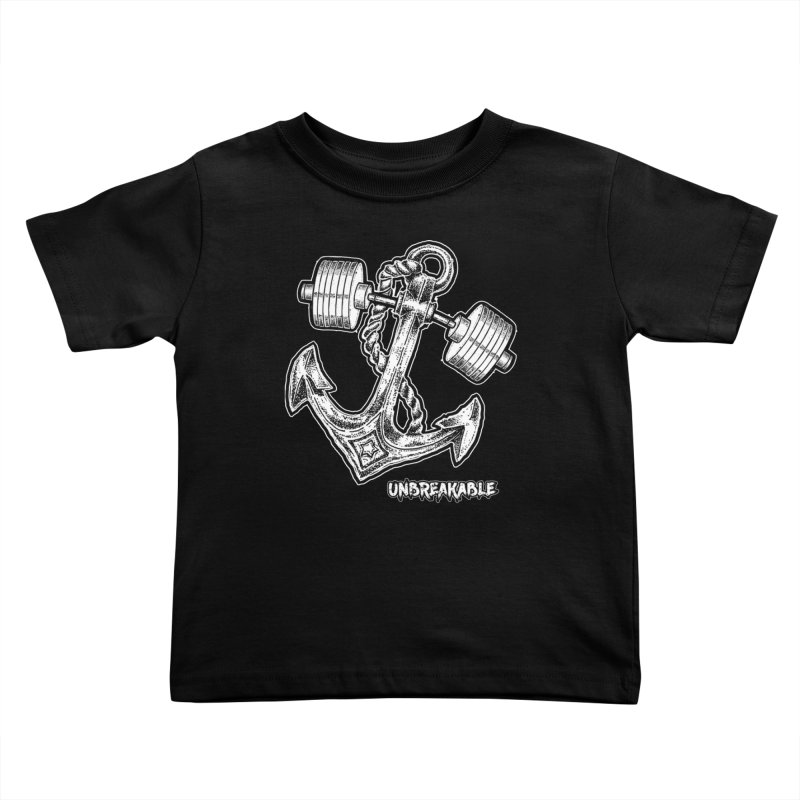 Anchor Kids Toddler T-Shirt by Unbreakable Barbell