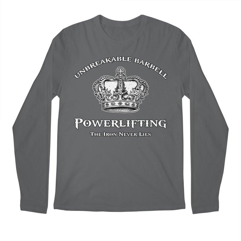 Crown Men's Longsleeve T-Shirt by Unbreakable Barbell