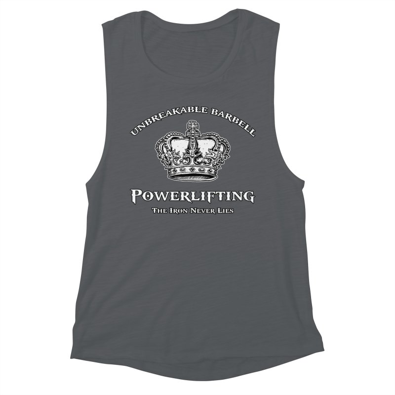 Crown Women's Muscle Tank by Unbreakable Barbell