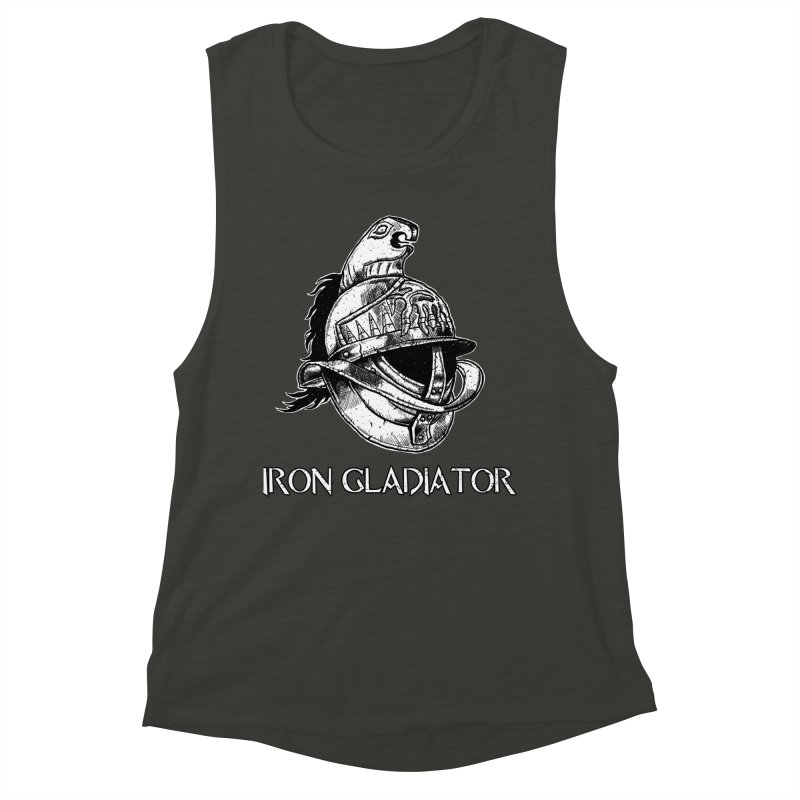 Gladiator Women's Muscle Tank by Unbreakable Barbell