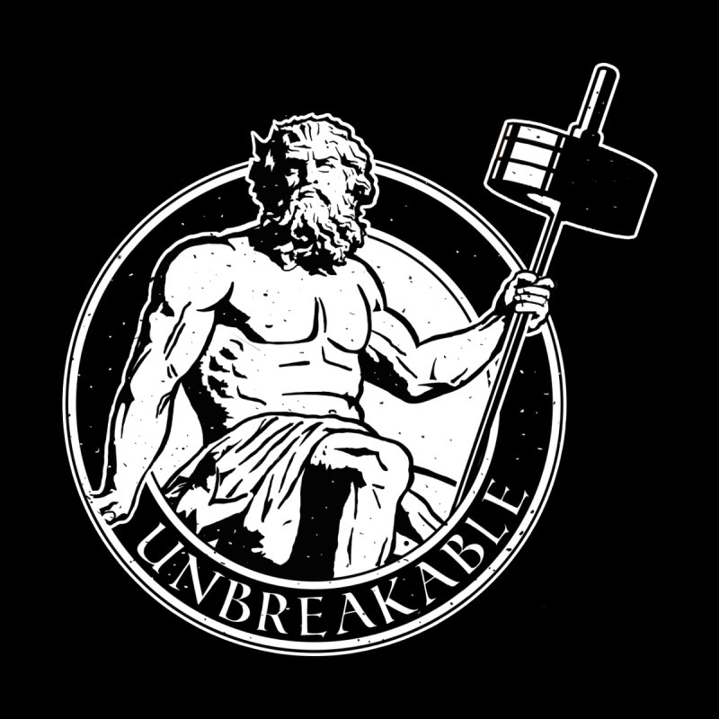 Gains God Men's Tank by Unbreakable Barbell