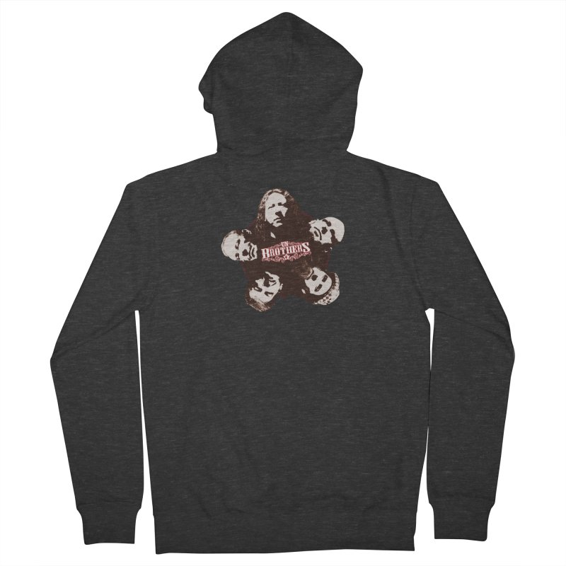 unBrothers Heads Women's Zip-Up Hoody by unStuff by unBrothers