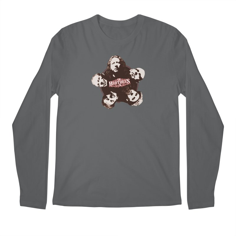 unBrothers Heads Men's Regular Longsleeve T-Shirt by unStuff by unBrothers
