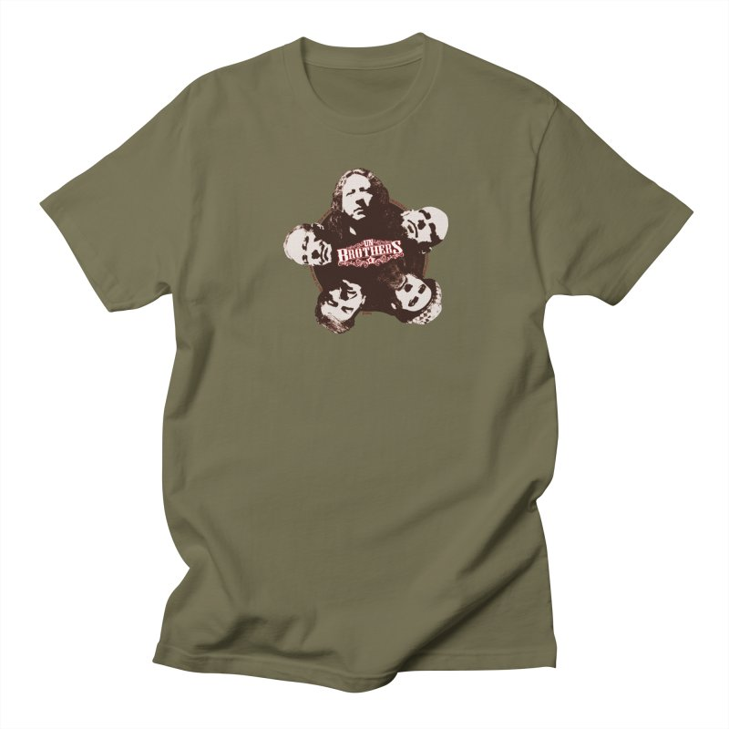 unBrothers Heads Men's Regular T-Shirt by unStuff by unBrothers