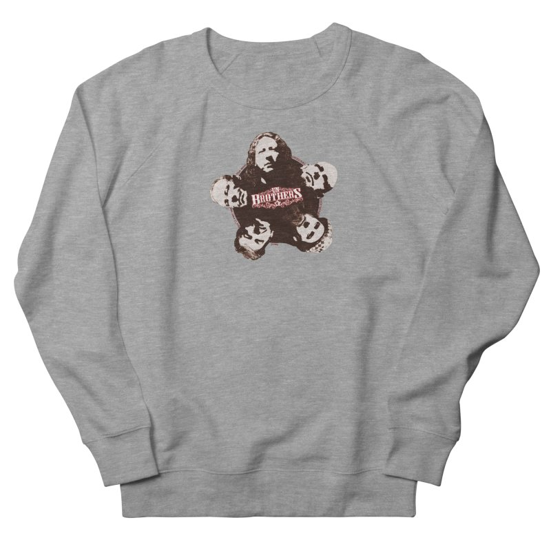 unBrothers Heads Women's French Terry Sweatshirt by unStuff by unBrothers
