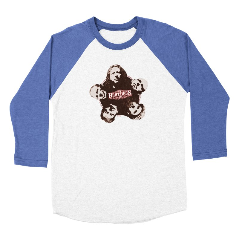 unBrothers Heads Women's Baseball Triblend Longsleeve T-Shirt by unStuff by unBrothers