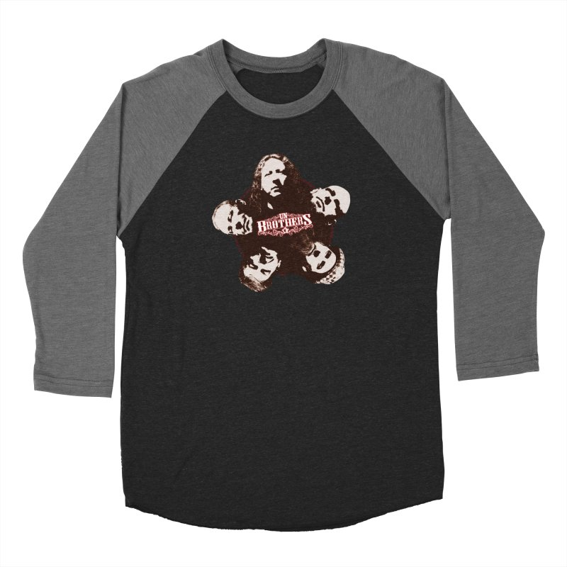 unBrothers Heads Men's Baseball Triblend Longsleeve T-Shirt by unStuff by unBrothers
