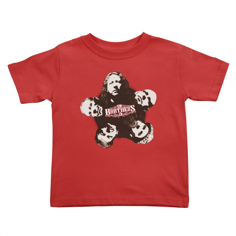 unBrothers Heads Kids Toddler T-Shirt by unStuff by unBrothers