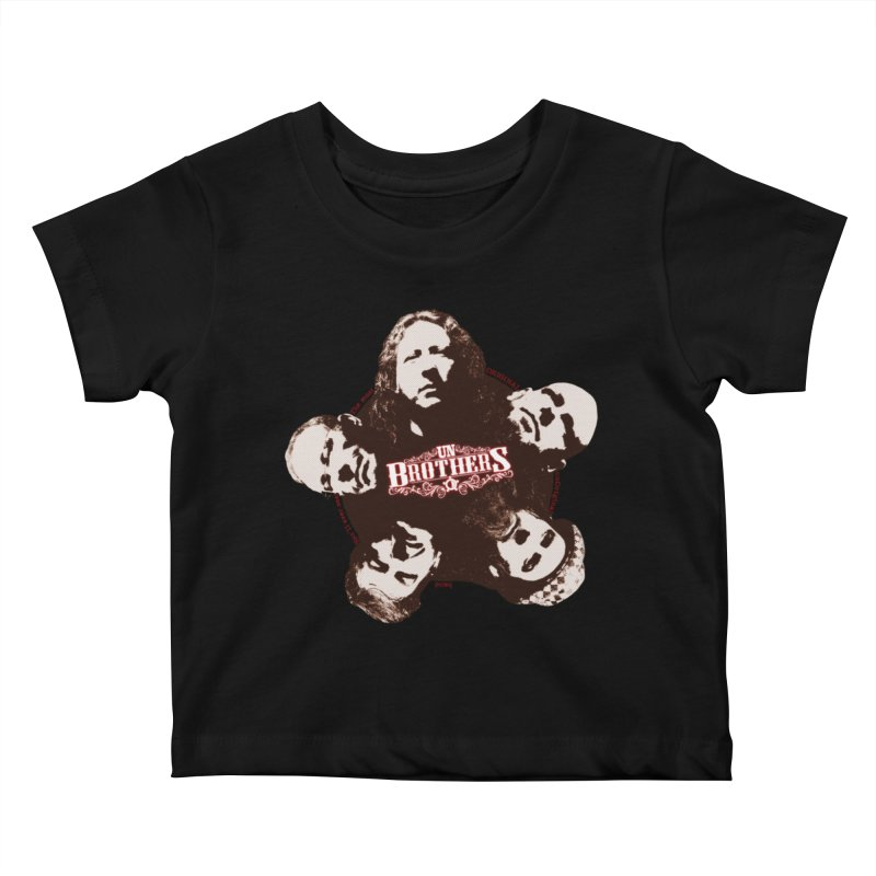 unBrothers Heads Kids Baby T-Shirt by unStuff by unBrothers