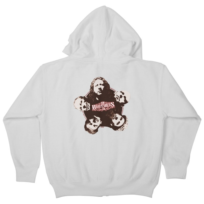 unBrothers Heads Kids Zip-Up Hoody by unStuff by unBrothers