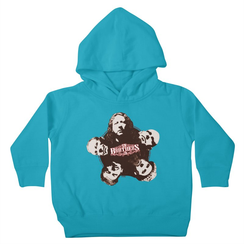 unBrothers Heads Kids Toddler Pullover Hoody by unStuff by unBrothers