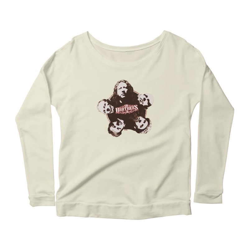 unBrothers Heads Women's Scoop Neck Longsleeve T-Shirt by unStuff by unBrothers