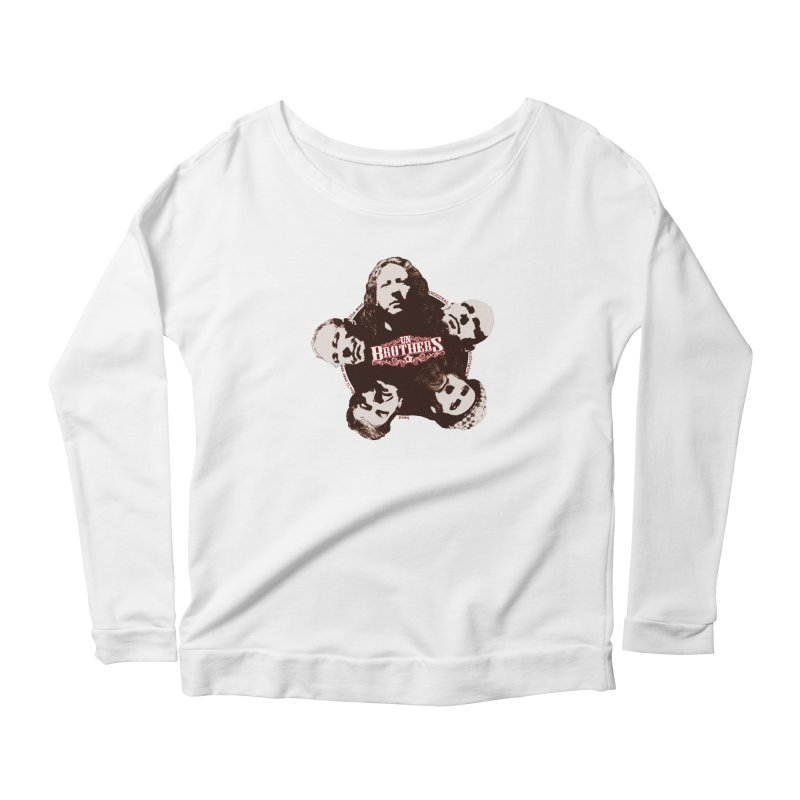 unBrothers Heads Women's Longsleeve Scoopneck  by unStuff by unBrothers