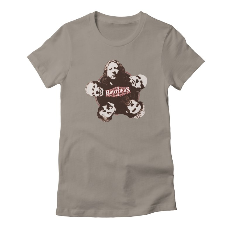 unBrothers Heads Women's Fitted T-Shirt by unStuff by unBrothers