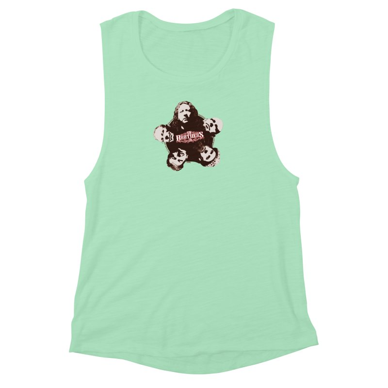unBrothers Heads Women's Muscle Tank by unStuff by unBrothers