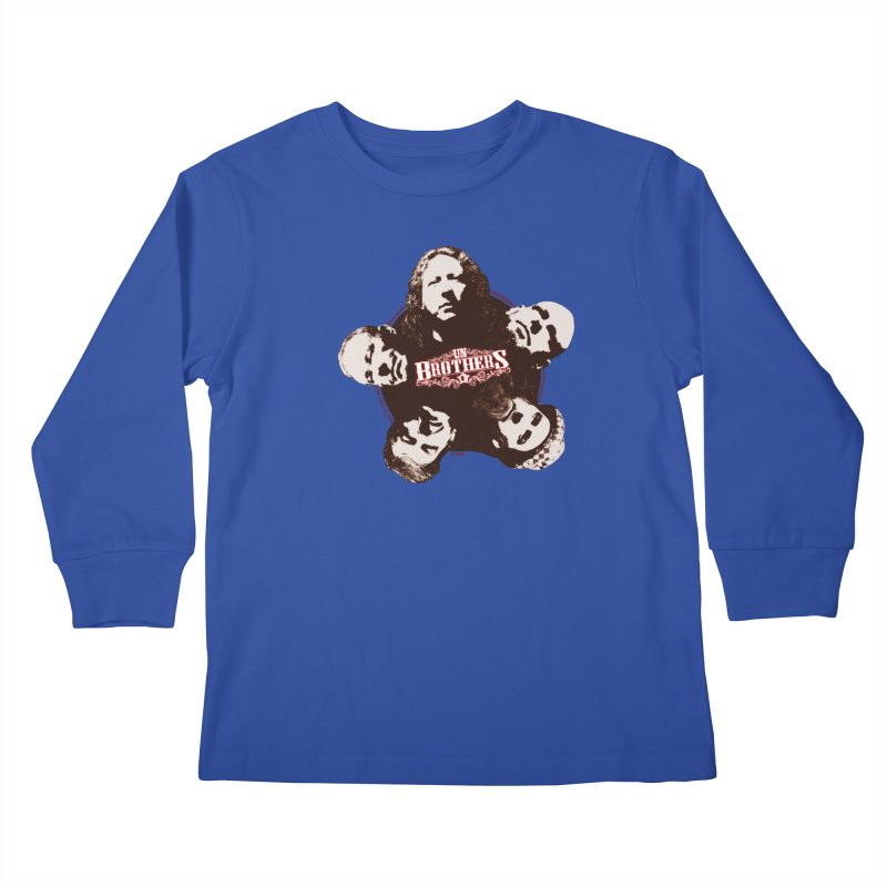 unBrothers Heads Kids Longsleeve T-Shirt by unStuff by unBrothers