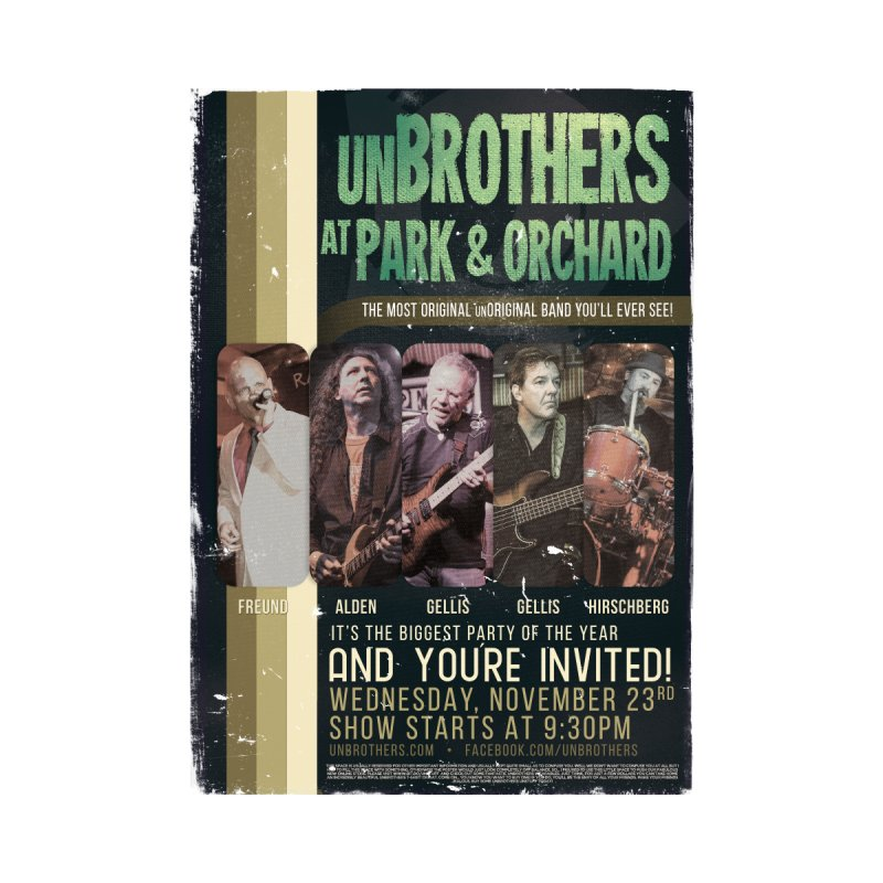 unBrothers Park & Orchard Concert Shirt by unStuff by unBrothers