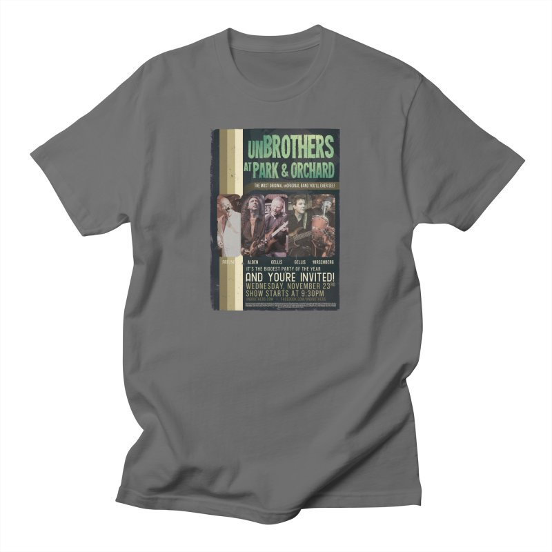 unBrothers Park & Orchard Concert Shirt Men's T-Shirt by unStuff by unBrothers