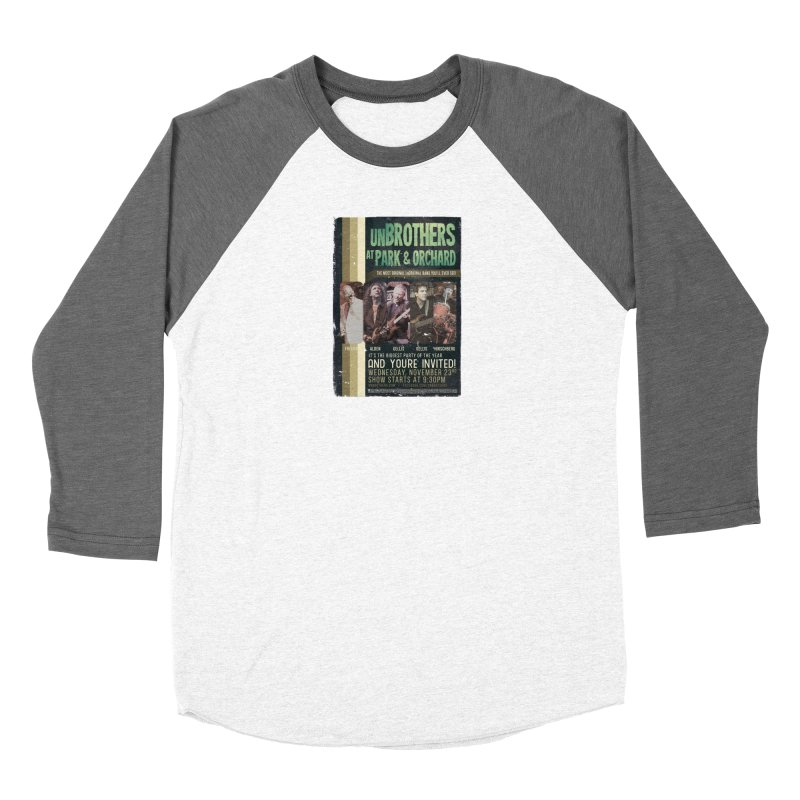 unBrothers Park & Orchard Concert Shirt Women's Longsleeve T-Shirt by unStuff by unBrothers