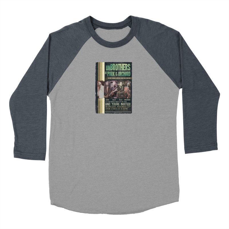 unBrothers Park & Orchard Concert Shirt Women's Baseball Triblend Longsleeve T-Shirt by unStuff by unBrothers