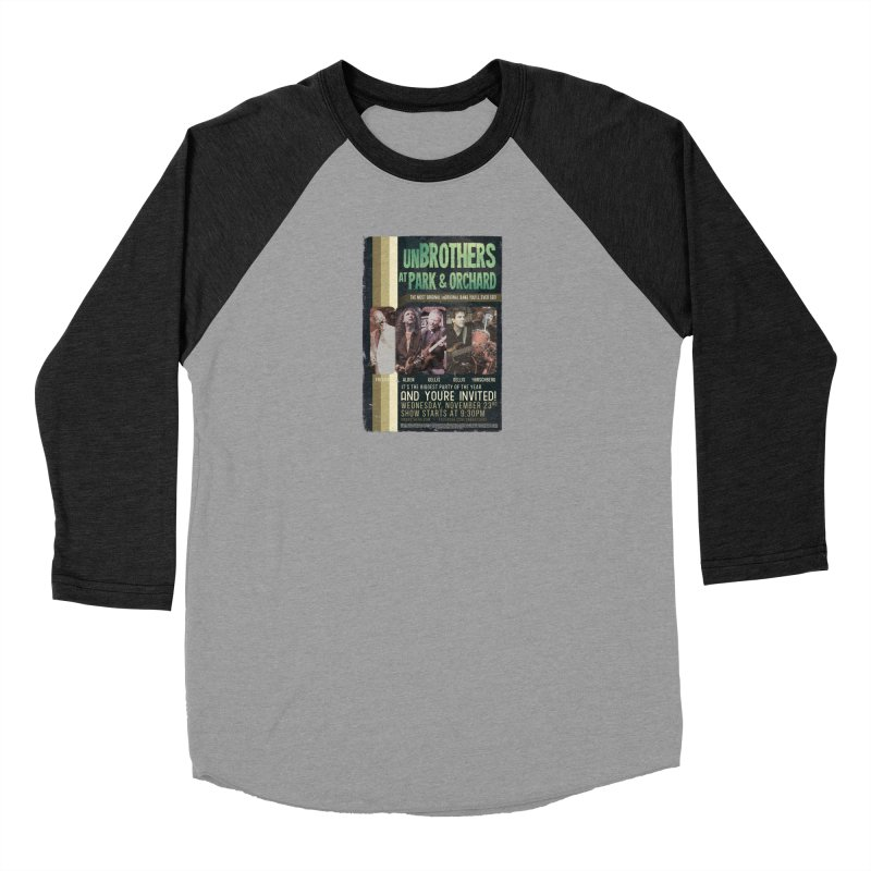 unBrothers Park & Orchard Concert Shirt Men's Longsleeve T-Shirt by unStuff by unBrothers