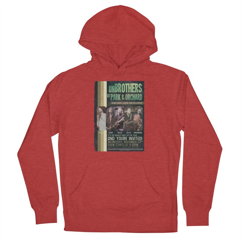 unBrothers Park & Orchard Concert Shirt Women's French Terry Pullover Hoody by unStuff by unBrothers