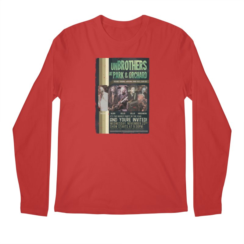 unBrothers Park & Orchard Concert Shirt Men's Regular Longsleeve T-Shirt by unStuff by unBrothers