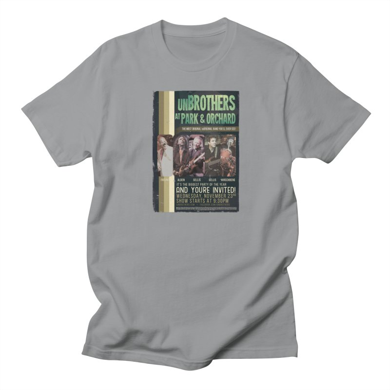 unBrothers Park & Orchard Concert Shirt Men's Regular T-Shirt by unStuff by unBrothers