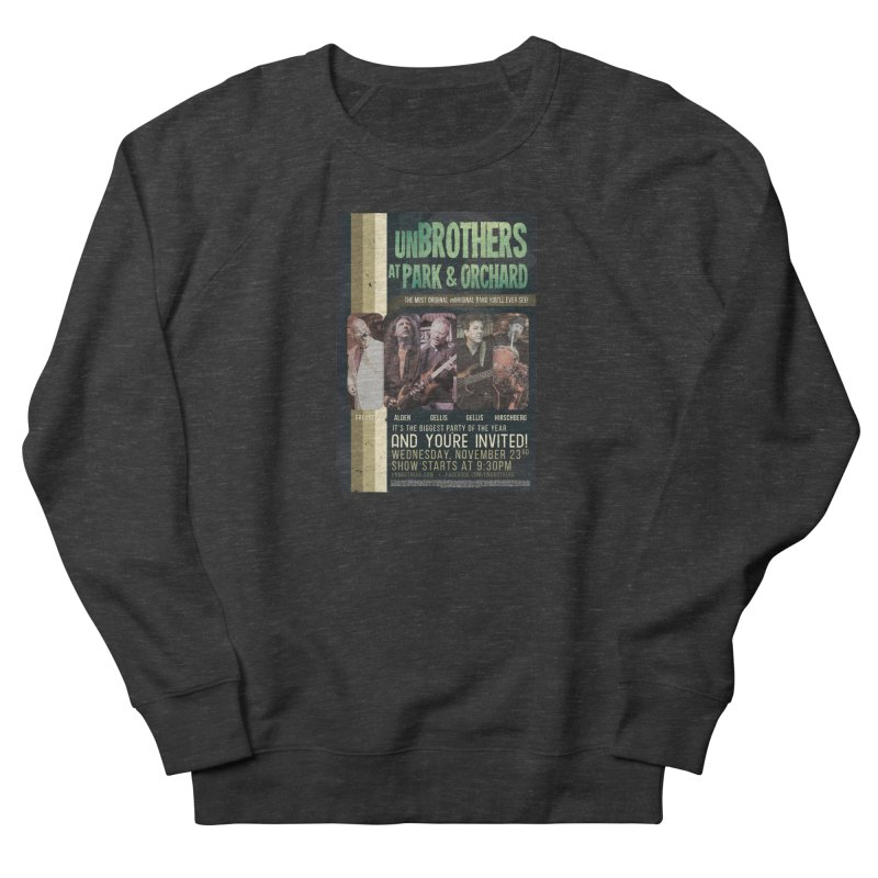 unBrothers Park & Orchard Concert Shirt Women's French Terry Sweatshirt by unStuff by unBrothers