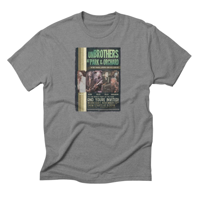 unBrothers Park & Orchard Concert Shirt Men's Triblend T-Shirt by unStuff by unBrothers