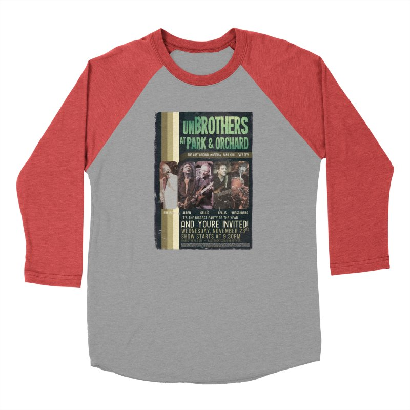 unBrothers Park & Orchard Concert Shirt Women's Baseball Triblend T-Shirt by unStuff by unBrothers