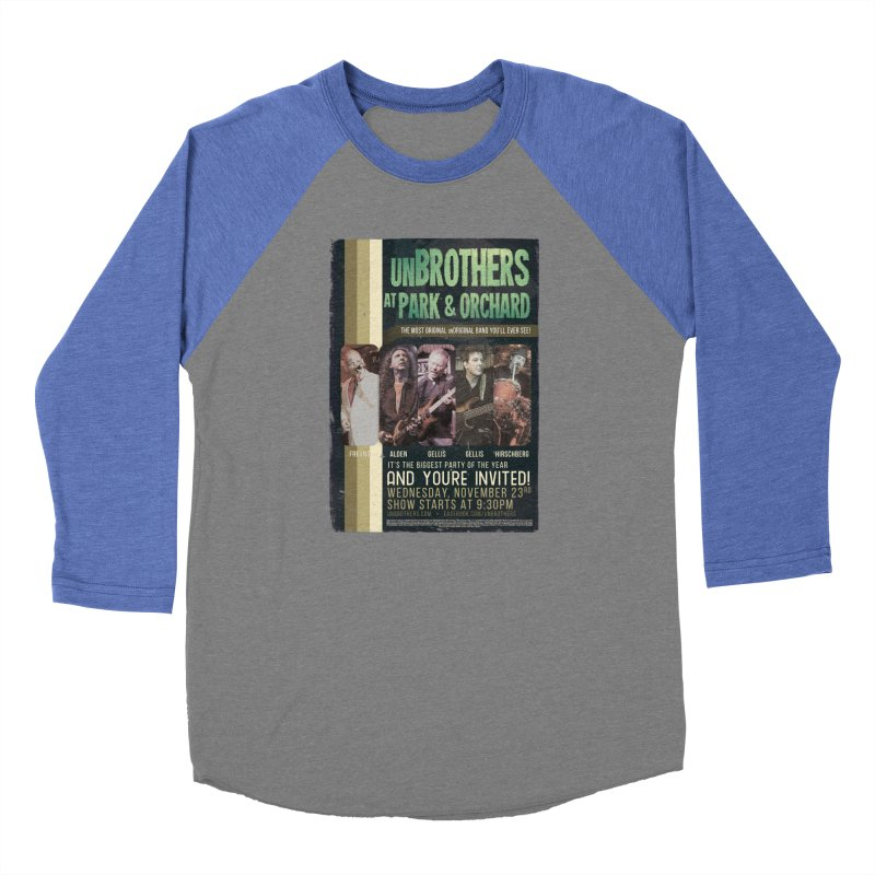 unBrothers Park & Orchard Concert Shirt Men's Baseball Triblend Longsleeve T-Shirt by unStuff by unBrothers