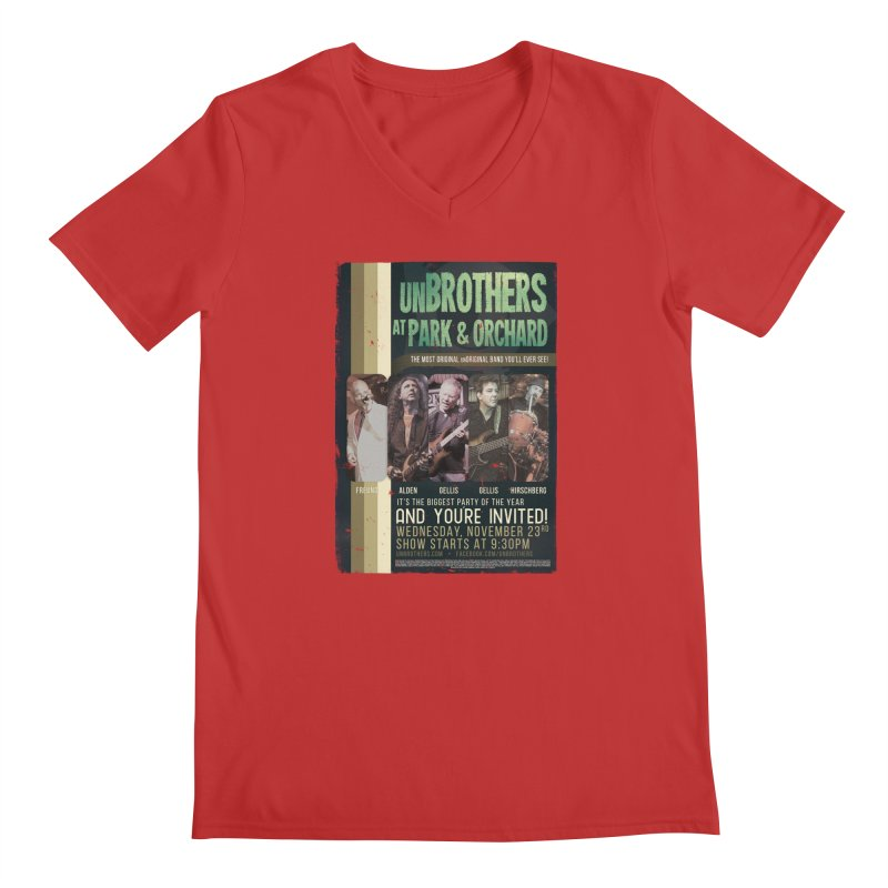 unBrothers Park & Orchard Concert Shirt Men's V-Neck by unStuff by unBrothers