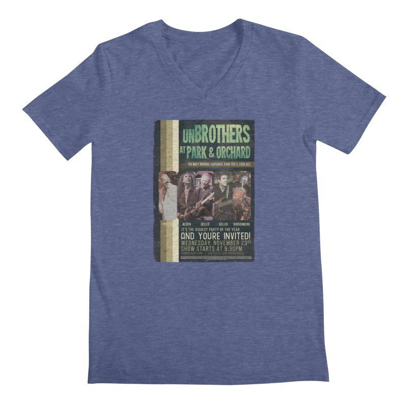 unBrothers Park & Orchard Concert Shirt Men's Regular V-Neck by unStuff by unBrothers
