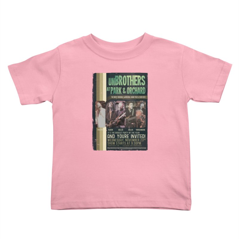 unBrothers Park & Orchard Concert Shirt Kids Toddler T-Shirt by unStuff by unBrothers