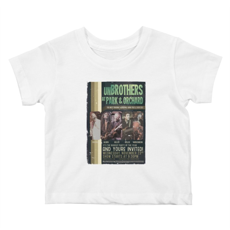 unBrothers Park & Orchard Concert Shirt Kids Baby T-Shirt by unStuff by unBrothers