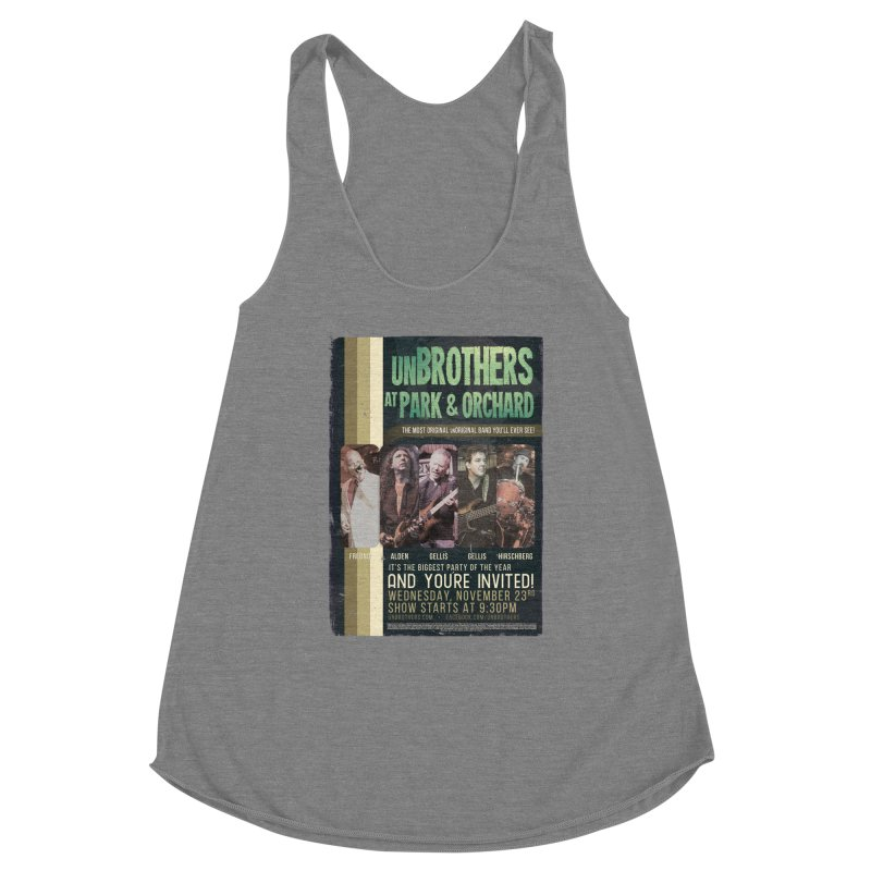 unBrothers Park & Orchard Concert Shirt Women's Tank by unStuff by unBrothers