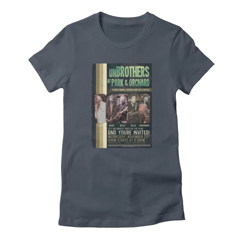 unBrothers Park & Orchard Concert Shirt Women's T-Shirt by unStuff by unBrothers