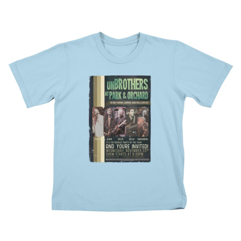 unBrothers Park & Orchard Concert Shirt Kids T-Shirt by unStuff by unBrothers