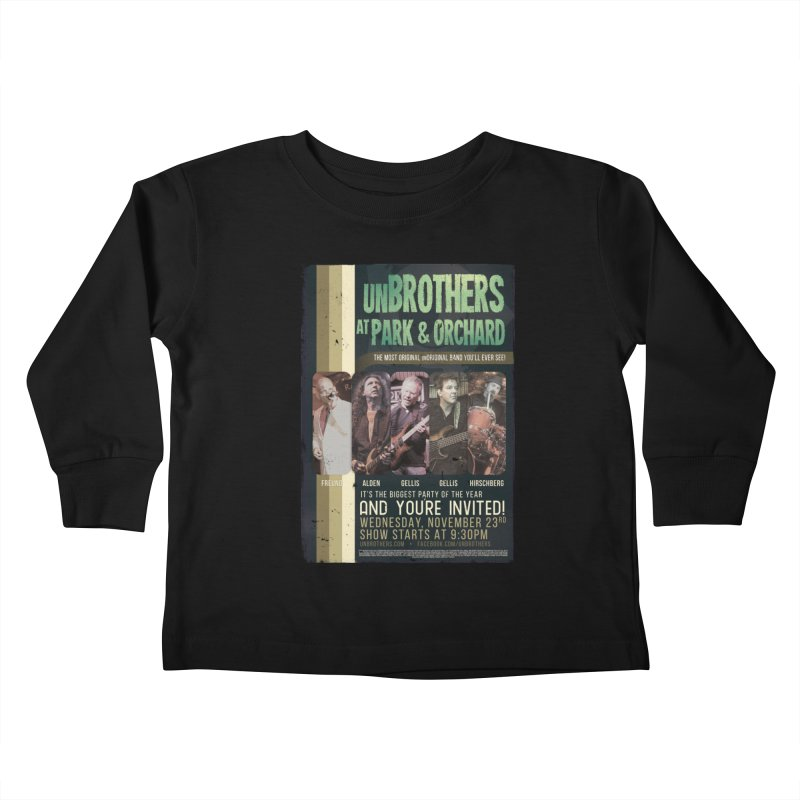 unBrothers Park & Orchard Concert Shirt Kids Toddler Longsleeve T-Shirt by unStuff by unBrothers