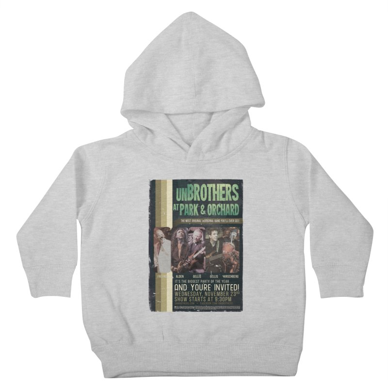 unBrothers Park & Orchard Concert Shirt Kids Toddler Pullover Hoody by unStuff by unBrothers