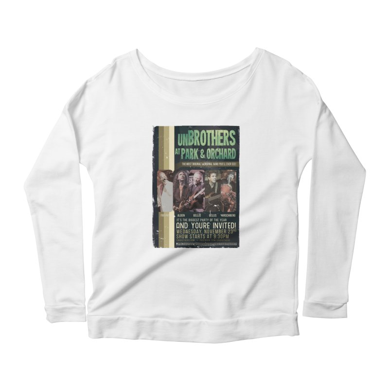 unBrothers Park & Orchard Concert Shirt Women's Scoop Neck Longsleeve T-Shirt by unStuff by unBrothers