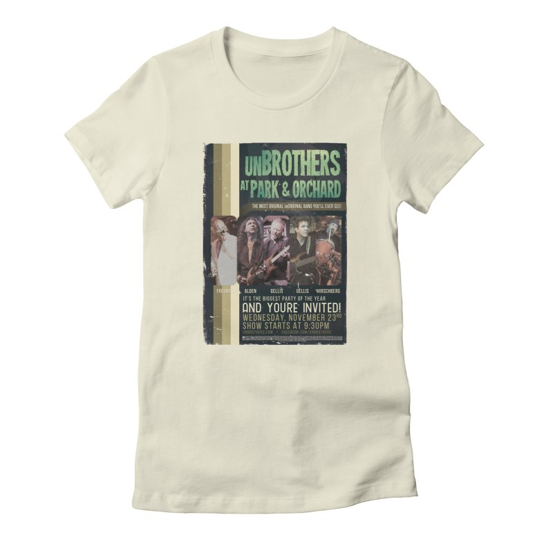 unBrothers Park & Orchard Concert Shirt Women's Fitted T-Shirt by unStuff by unBrothers