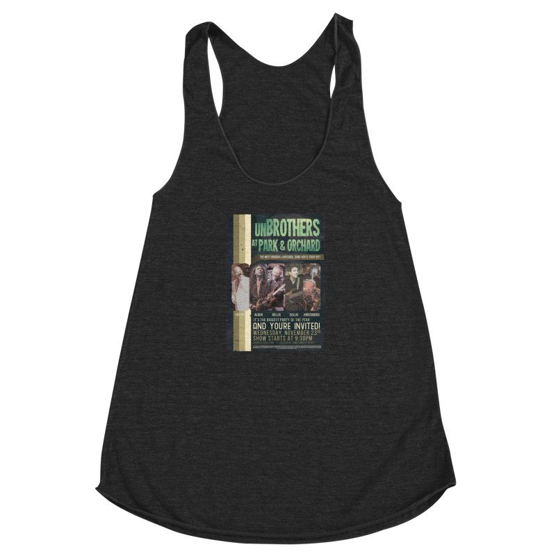 unBrothers Park & Orchard Concert Shirt Women's Racerback Triblend Tank by unStuff by unBrothers