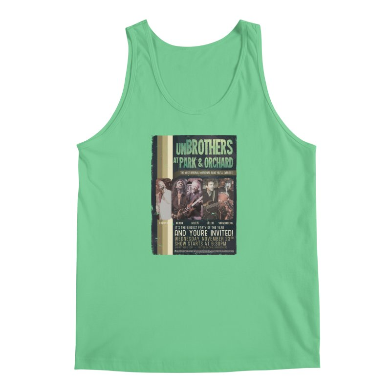 unBrothers Park & Orchard Concert Shirt Men's Regular Tank by unStuff by unBrothers