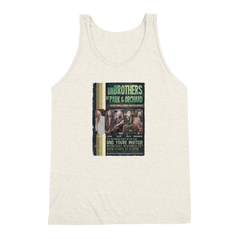 unBrothers Park & Orchard Concert Shirt Men's Triblend Tank by unStuff by unBrothers
