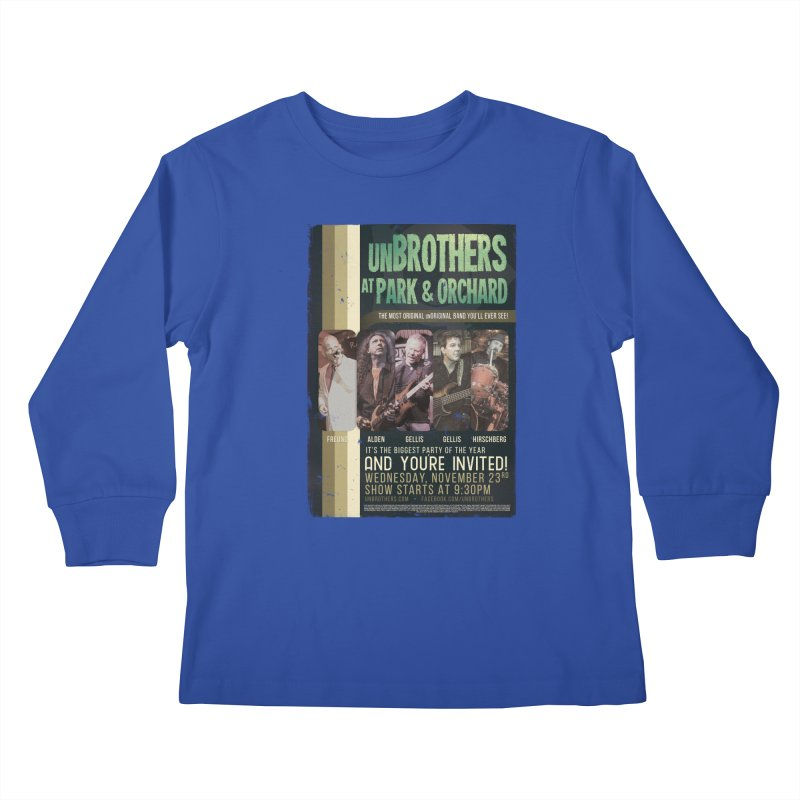 unBrothers Park & Orchard Concert Shirt Kids Longsleeve T-Shirt by unStuff by unBrothers