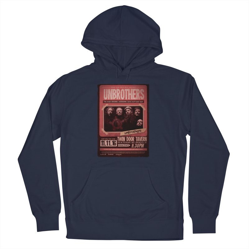 unBrothers Twin Door Tavern Concert Shirt Women's French Terry Pullover Hoody by unStuff by unBrothers