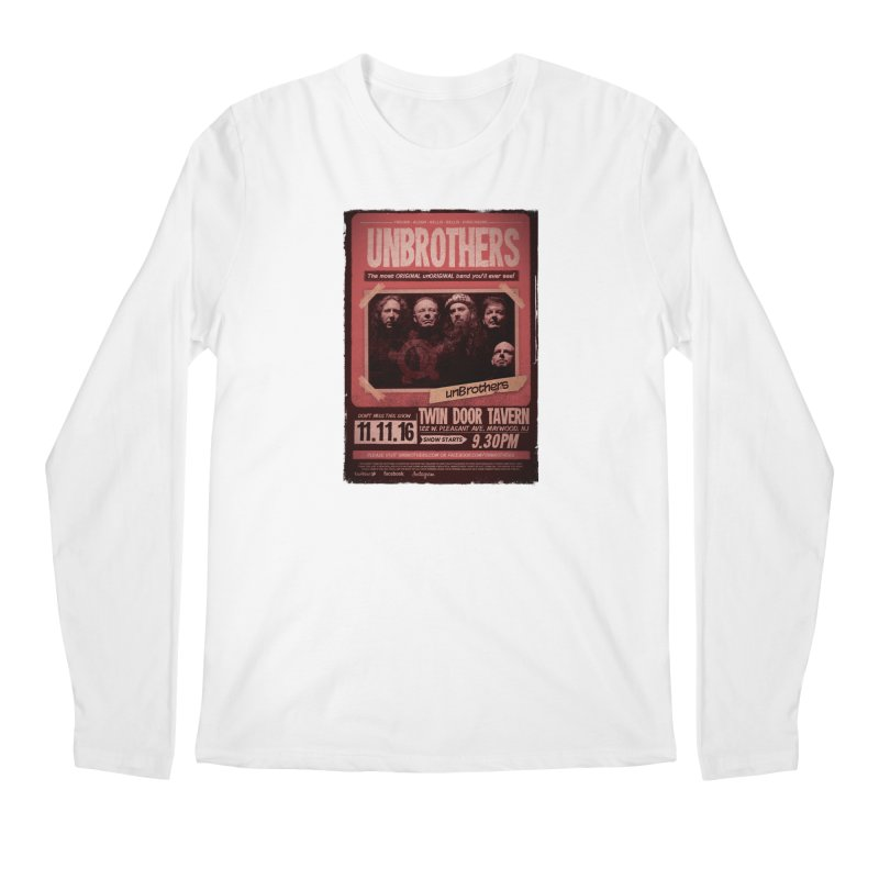 unBrothers Twin Door Tavern Concert Shirt Men's Regular Longsleeve T-Shirt by unStuff by unBrothers